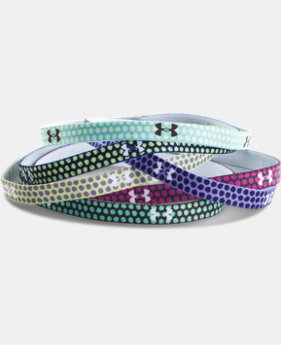 Best Seller Girls' UA Graphic Mini Headbands  1 Color $8.99