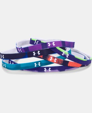 Girls' UA Graphic Mini Headbands LIMITED TIME: FREE U.S. SHIPPING 2 Colors $8.99 to $11.99