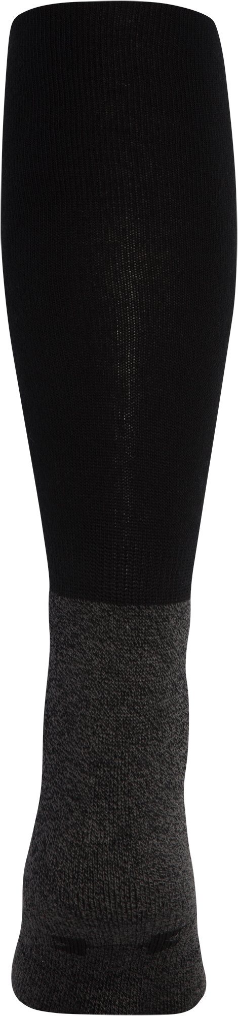 Men's UA Performance OTC Socks, Black ,