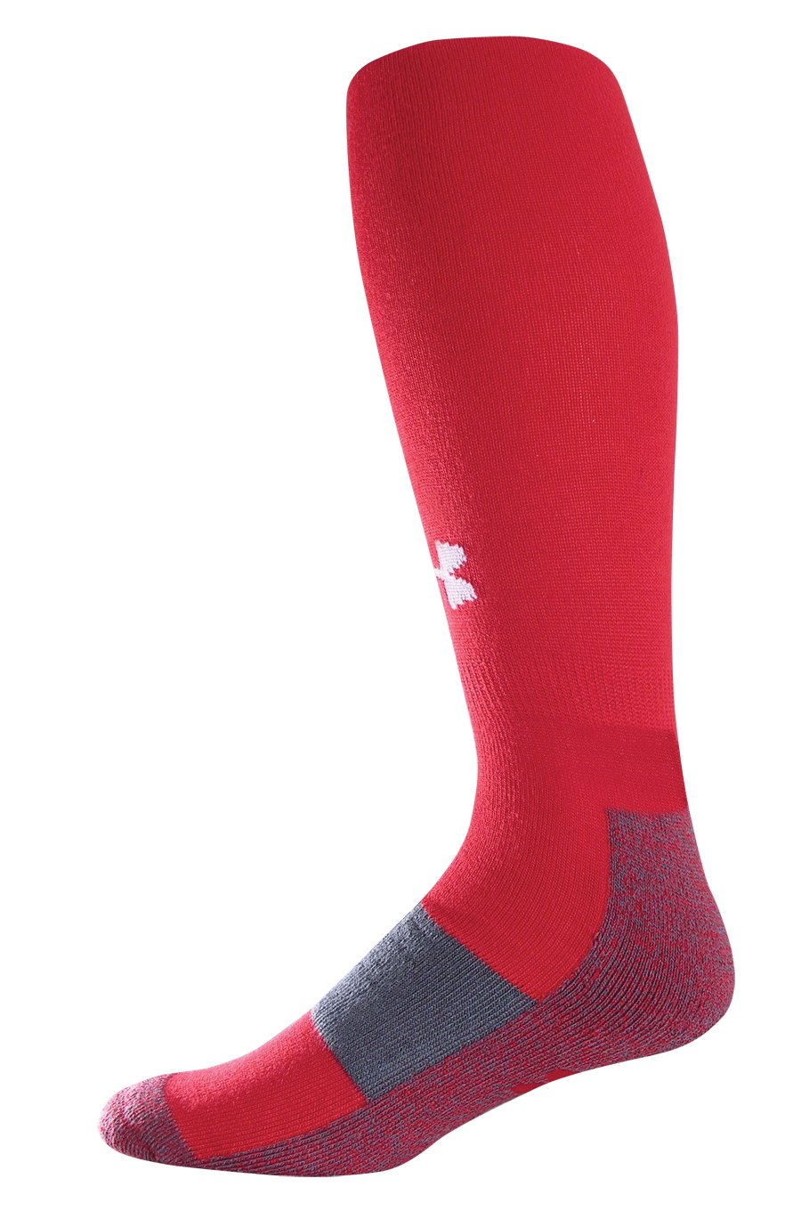 Men's UA Performance OTC Socks, Red