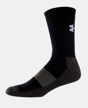 Youth UA Performance Crew Socks