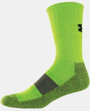 Men's UA Performance Crew Socks LIMITED TIME: FREE U.S. SHIPPING 1 Color $9.99