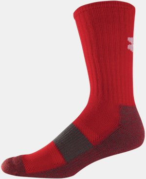 Men's UA Performance Crew Socks  1 Color $7.99