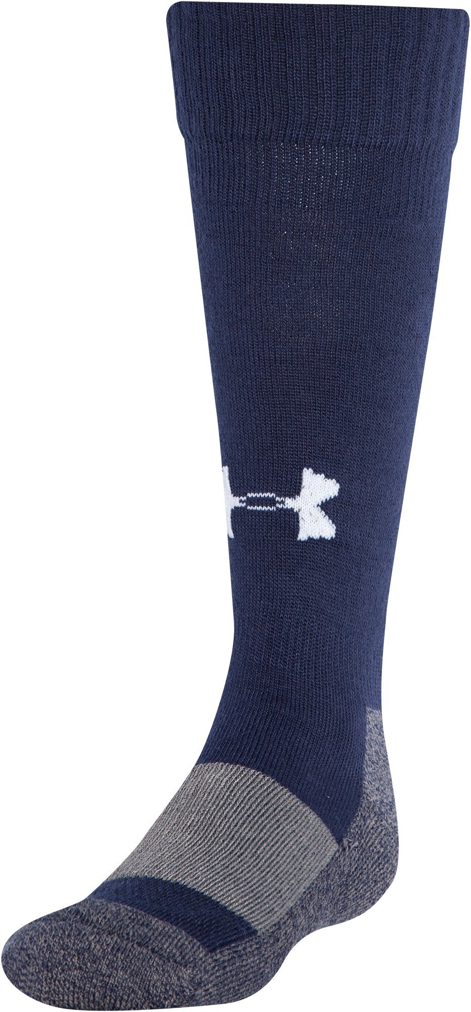 Boys' UA Baseball OTC Socks, Midnight Navy
