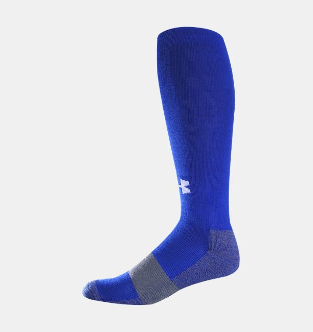 Youth Football Charged Cotton® OTC Socks, Royal - Youth Football Charged Cotton® OTC Socks Under Armour US