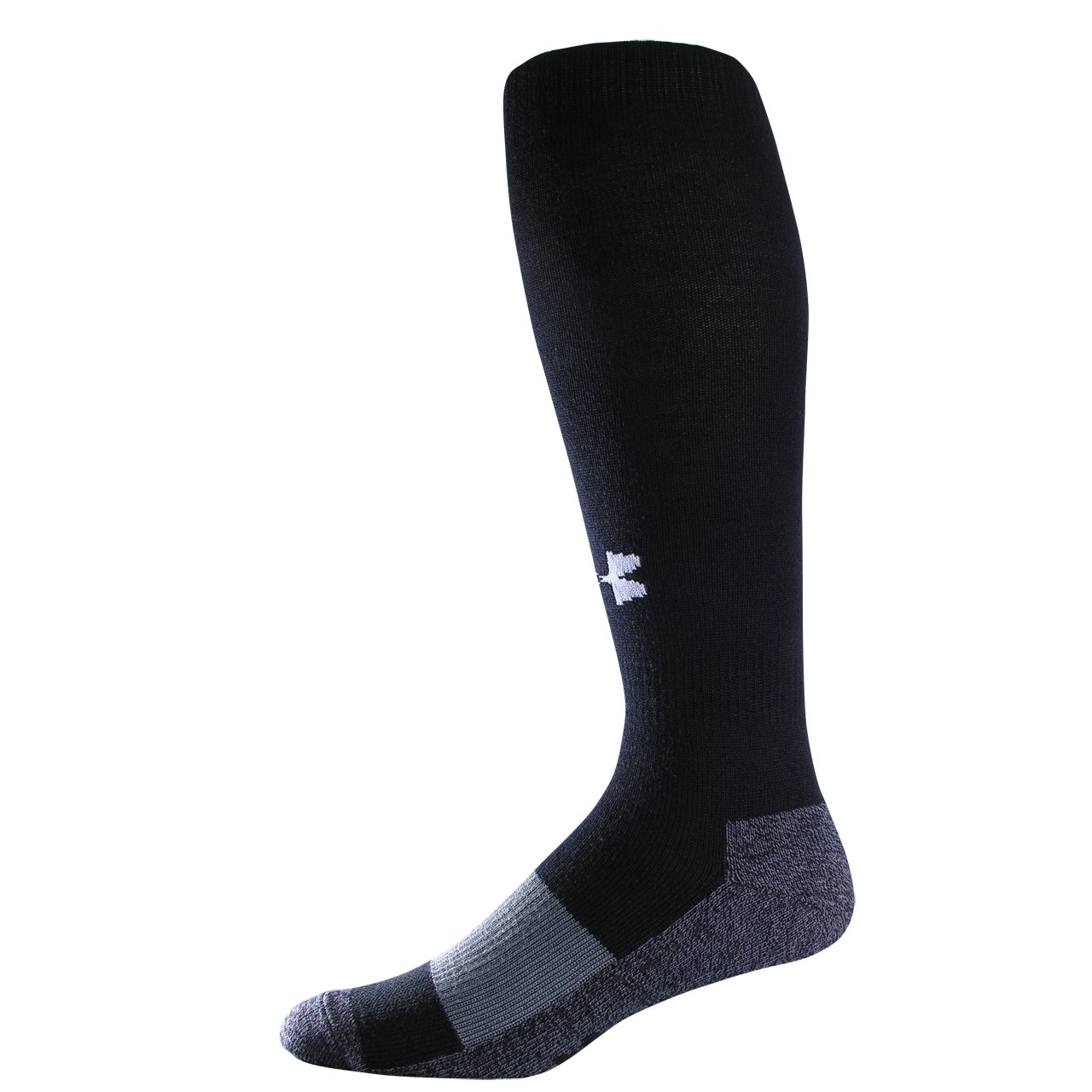 Kids' UA Soccer OTC Socks, Black , zoomed image