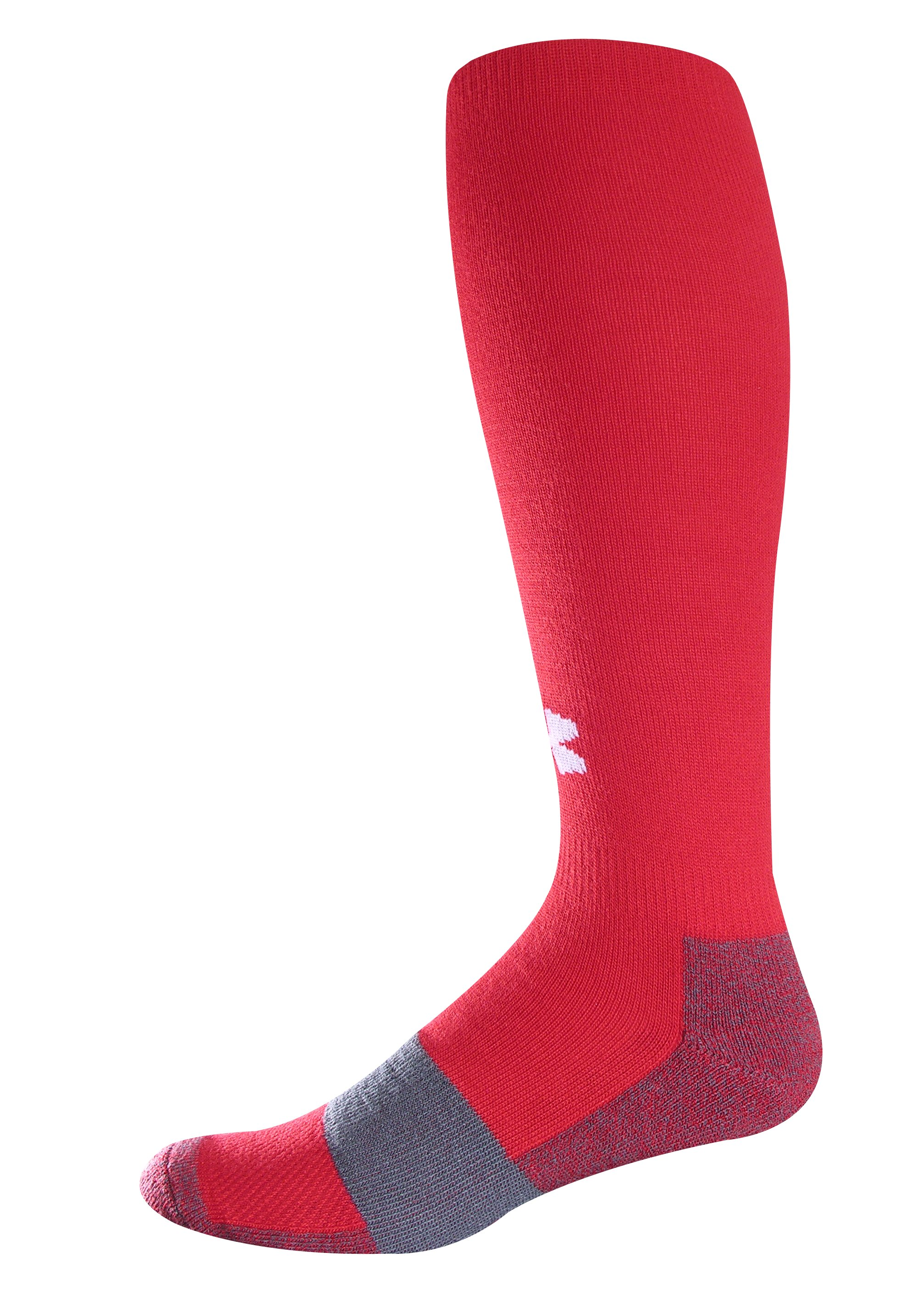 Kids' UA Soccer OTC Socks, Red,