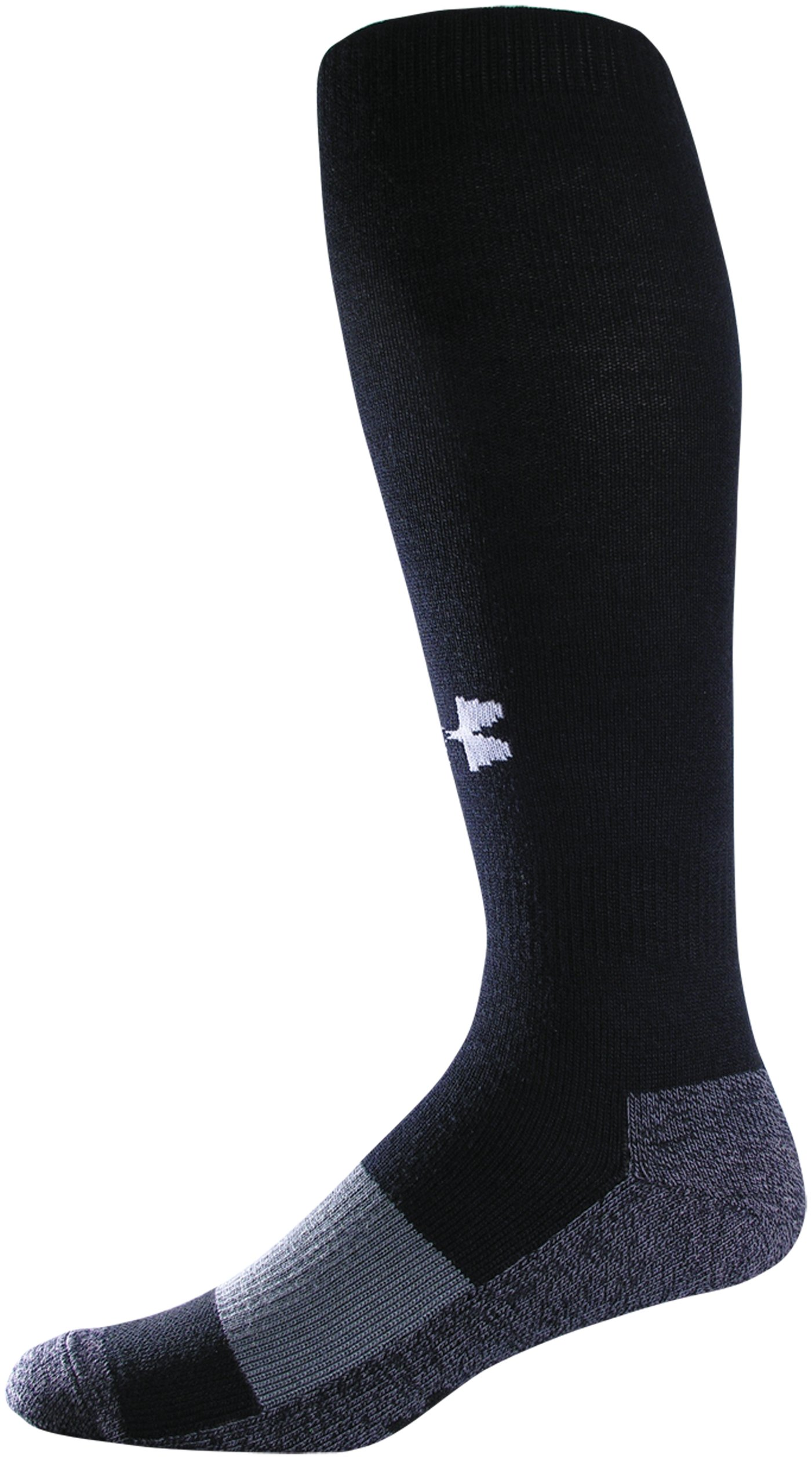 Men's UA Soccer OTC Socks, Black , zoomed image