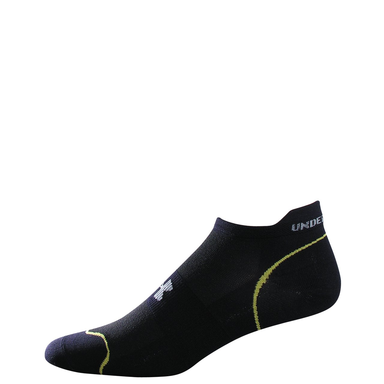 Men's UA Ultralite Run Socks 2-Pack, Black