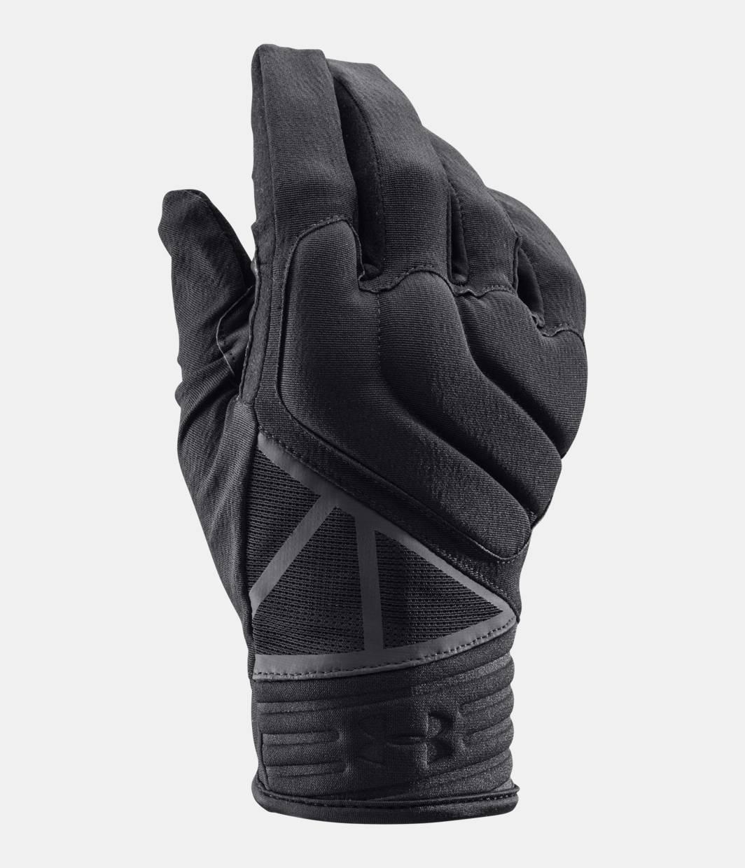 Black tactical gloves - Men S Ua Tactical Duty Gloves Black Zoomed Image