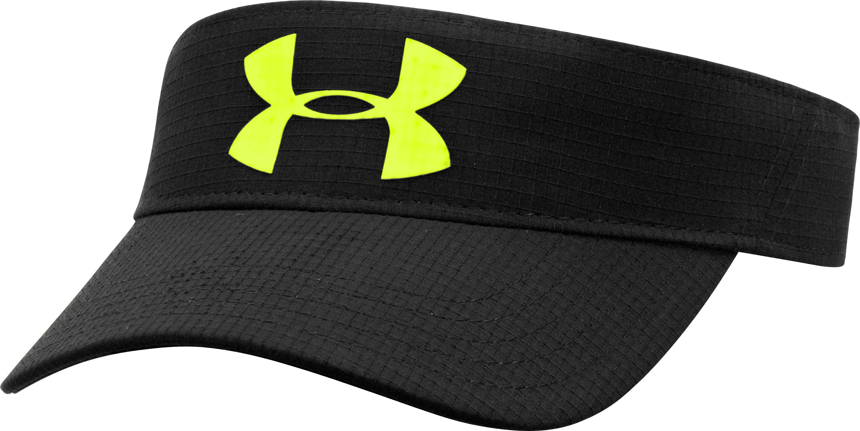 Boys' UA Headline Visor, Black ,