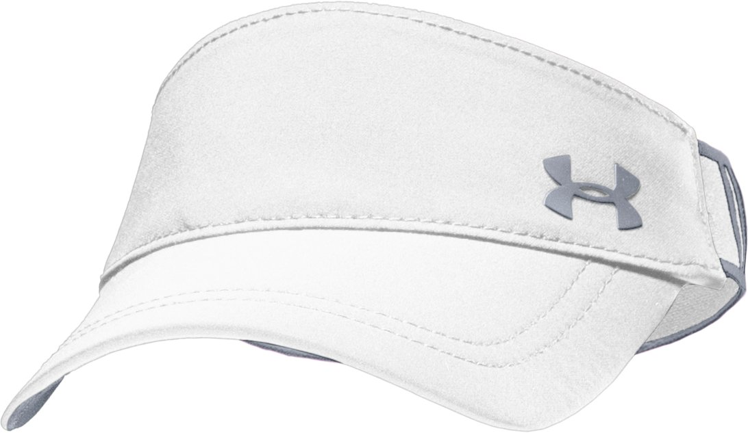 Women's UA Gotta Have It Visor, White, zoomed image