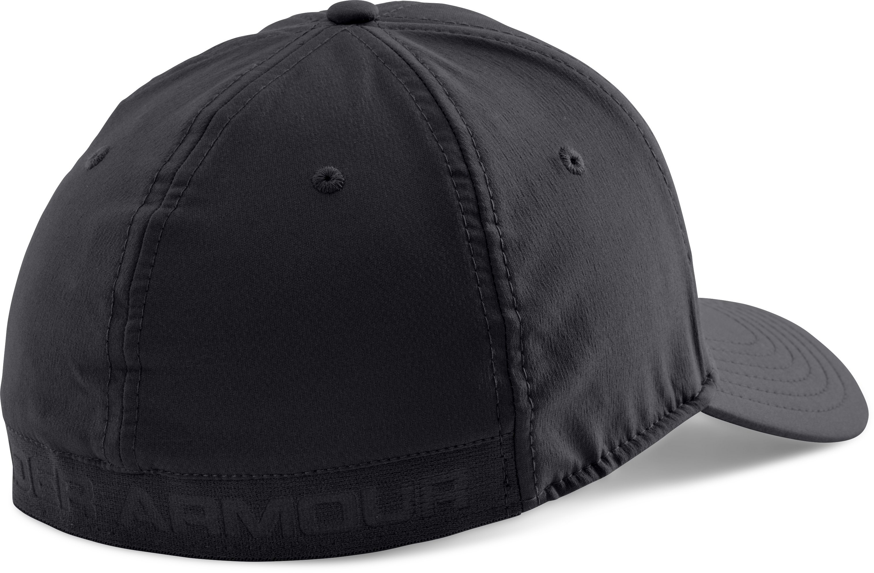 Men's UA Headline Stretch Fit Cap, Black