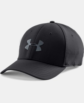 Men's UA Headline Stretch Fit Cap LIMITED TIME: FREE SHIPPING 1 Color $29.99
