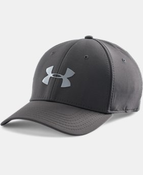 Men's UA Headline Stretch Fit Cap LIMITED TIME: FREE SHIPPING 3 Colors $22.99