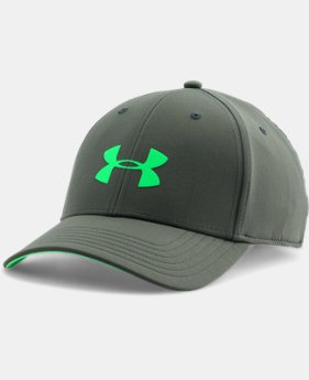 Men's UA Headline Stretch Fit Cap  1 Color $14.24