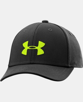 Boys' UA Headline Stretch Fit Cap LIMITED TIME: FREE SHIPPING 2 Colors $25.99