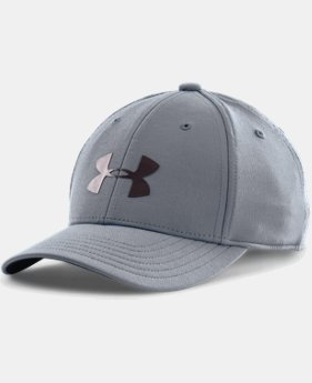 Boys' UA Headline Stretch Fit Cap