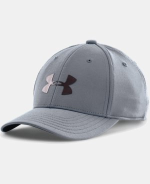 Best Seller Boys' UA Headline Stretch Fit Cap LIMITED TIME: FREE U.S. SHIPPING 1 Color $13.99 to $21.99