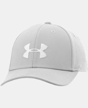 Boys' UA Headline Stretch Fit Cap LIMITED TIME: FREE U.S. SHIPPING 3 Colors $12.74 to $16.99