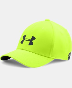 Boys' UA Headline Stretch Fit Cap LIMITED TIME: FREE SHIPPING 1 Color $19.99
