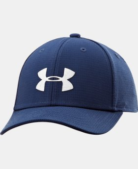 Boys' UA Headline Stretch Fit Cap  1 Color $13.99 to $16.99
