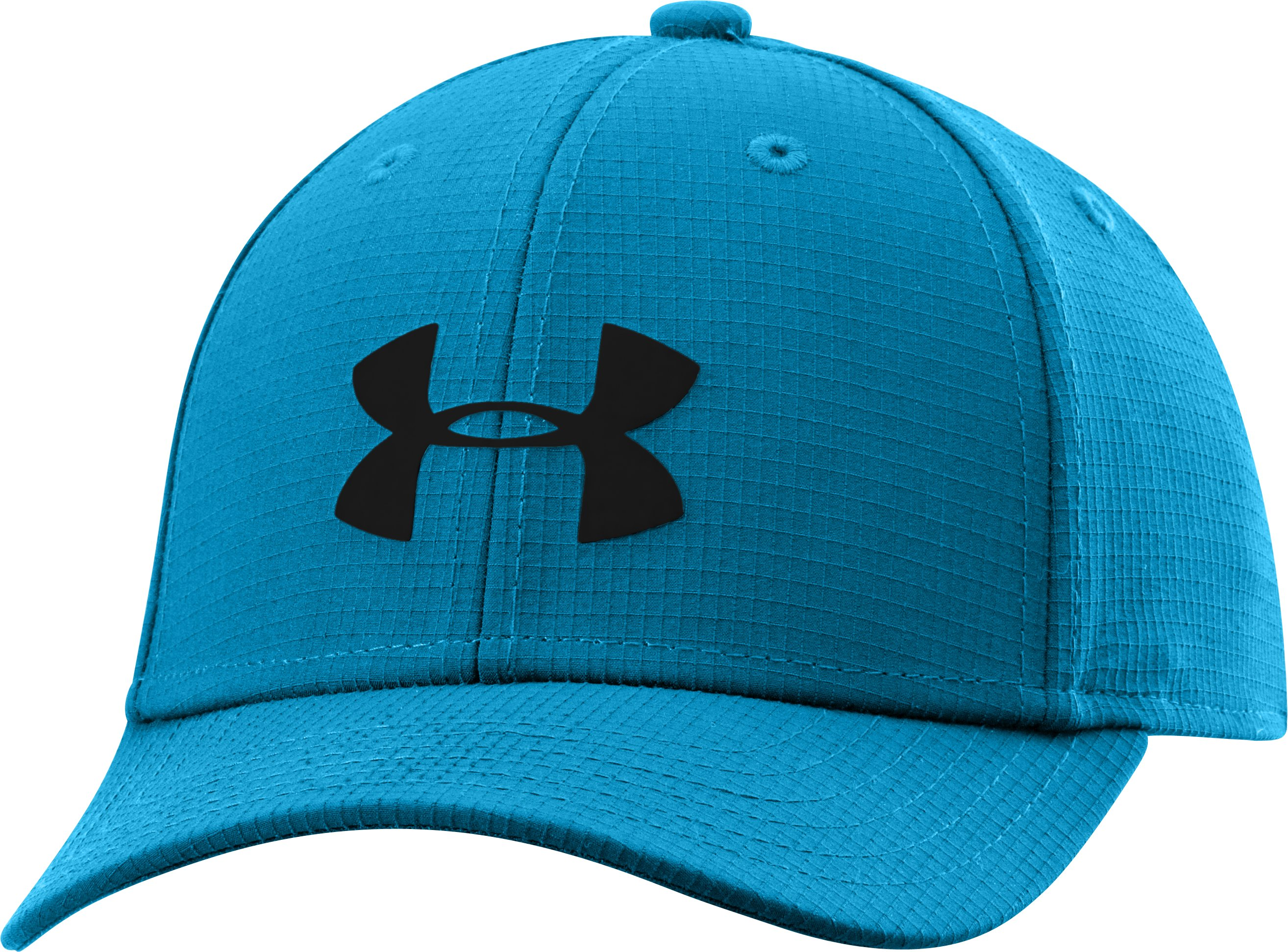 Boys' UA Headline Stretch Fit Cap, PIRATE BLUE