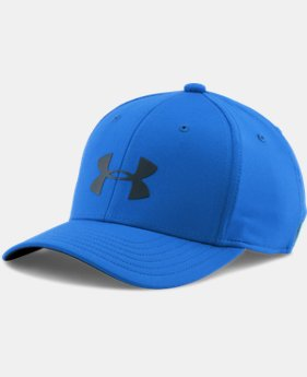 Boys' UA Headline Stretch Fit Cap LIMITED TIME: FREE U.S. SHIPPING 1 Color $12.74 to $16.99