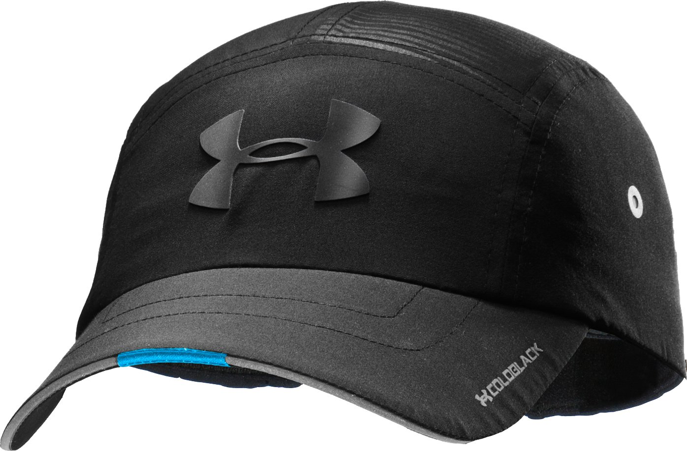 Men's coldblack® Bolt It Run Cap, Black , zoomed image