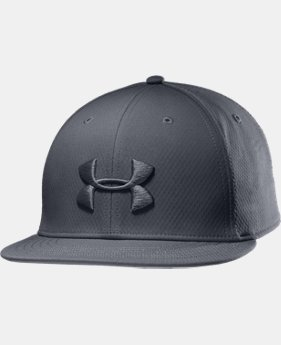 Men's UA Elevated Flat Brim Cap  1 Color $22.99