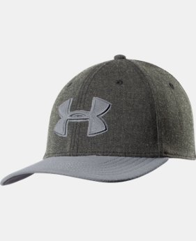 Men's UA Closer Low Crown Stretch Fit Cap   $12.74