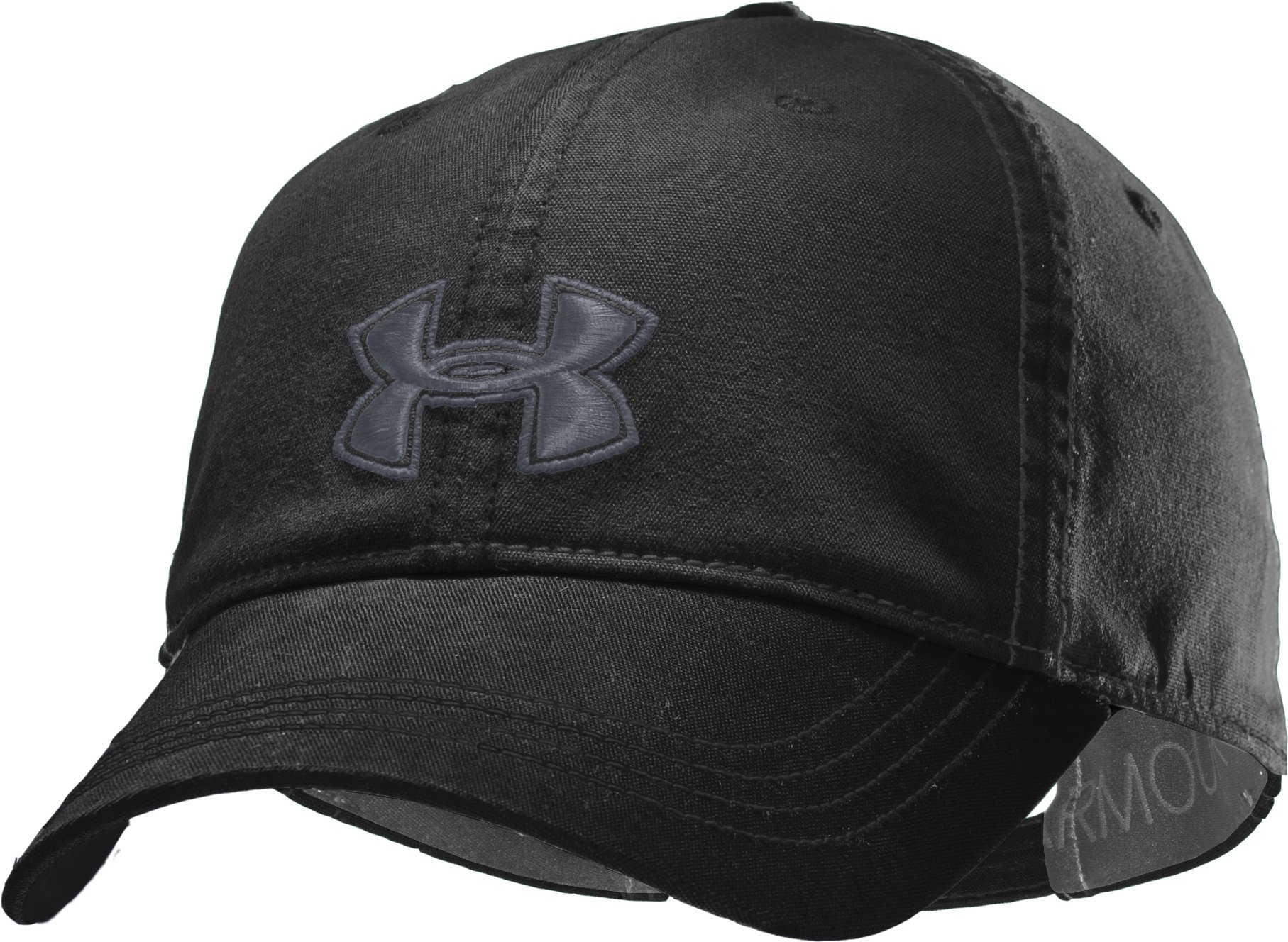 Women's UA Boyfriend Cap, Black , zoomed image