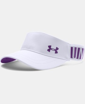 Girls' UA Headline Adjustable Visor