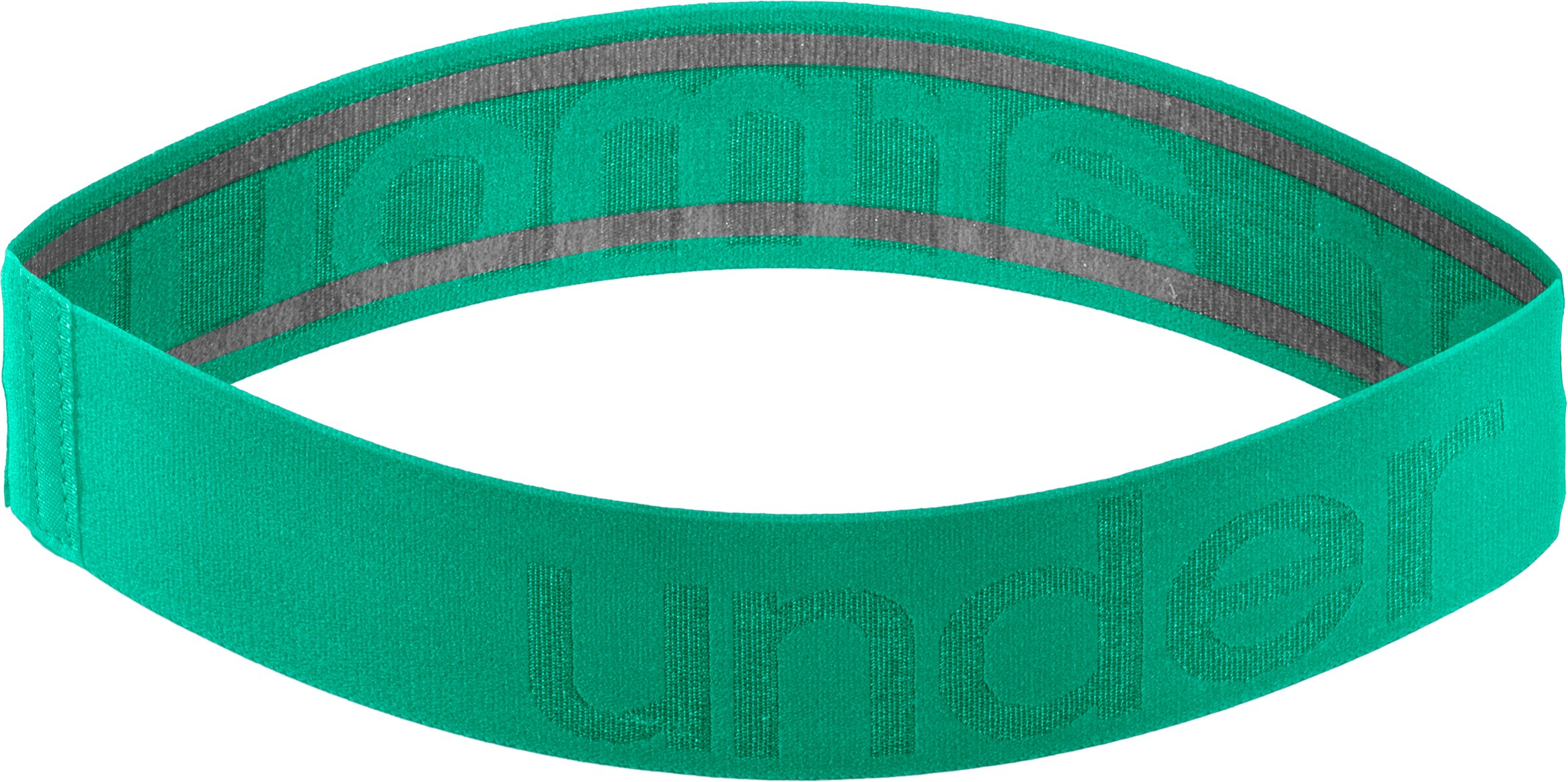Women's UA Elevate Headband, EMERALD LAKE, zoomed image