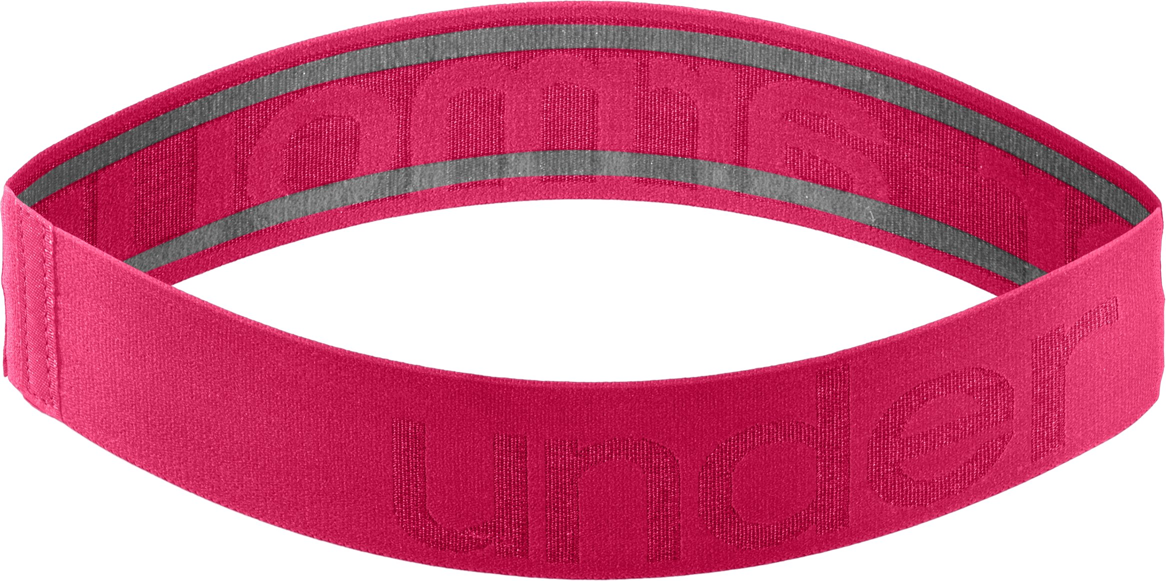 Women's UA Elevate Headband, EXUBERANT PINK