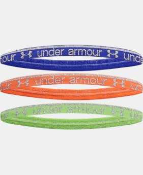 Girls' UA Silver Shine Mini Headband