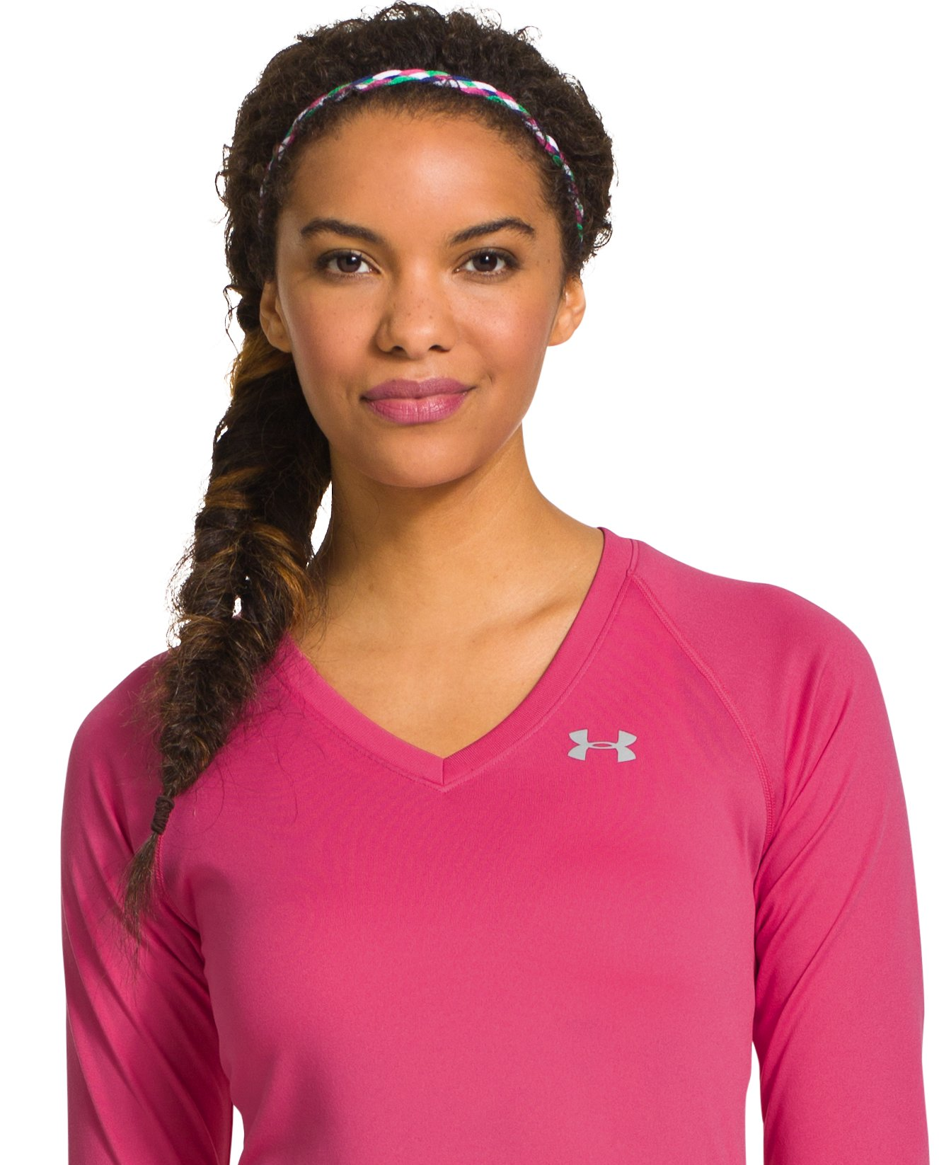 Women's UA 4-Braid Mini Headband, Caspian