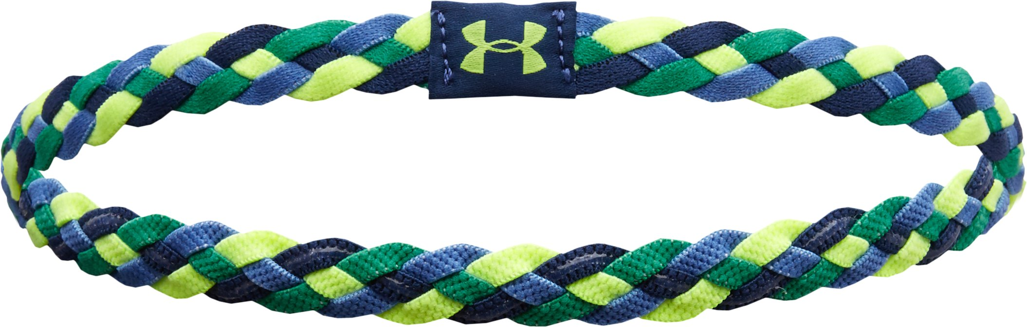 Women's UA 4-Braid Mini Headband, Indigo