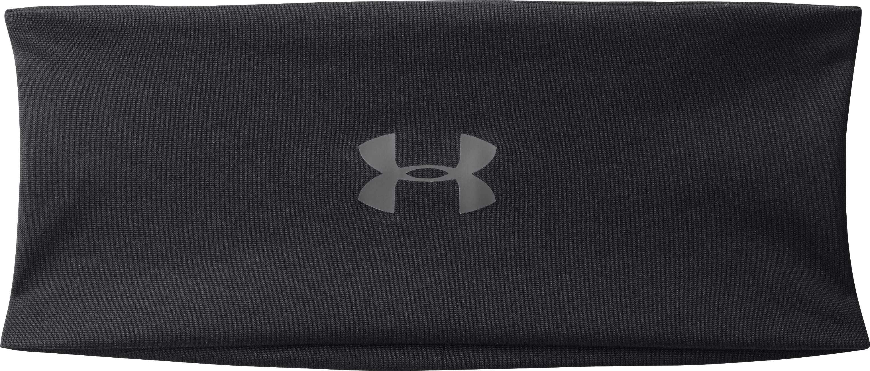 Women's UA Extra Wide Headband, Black