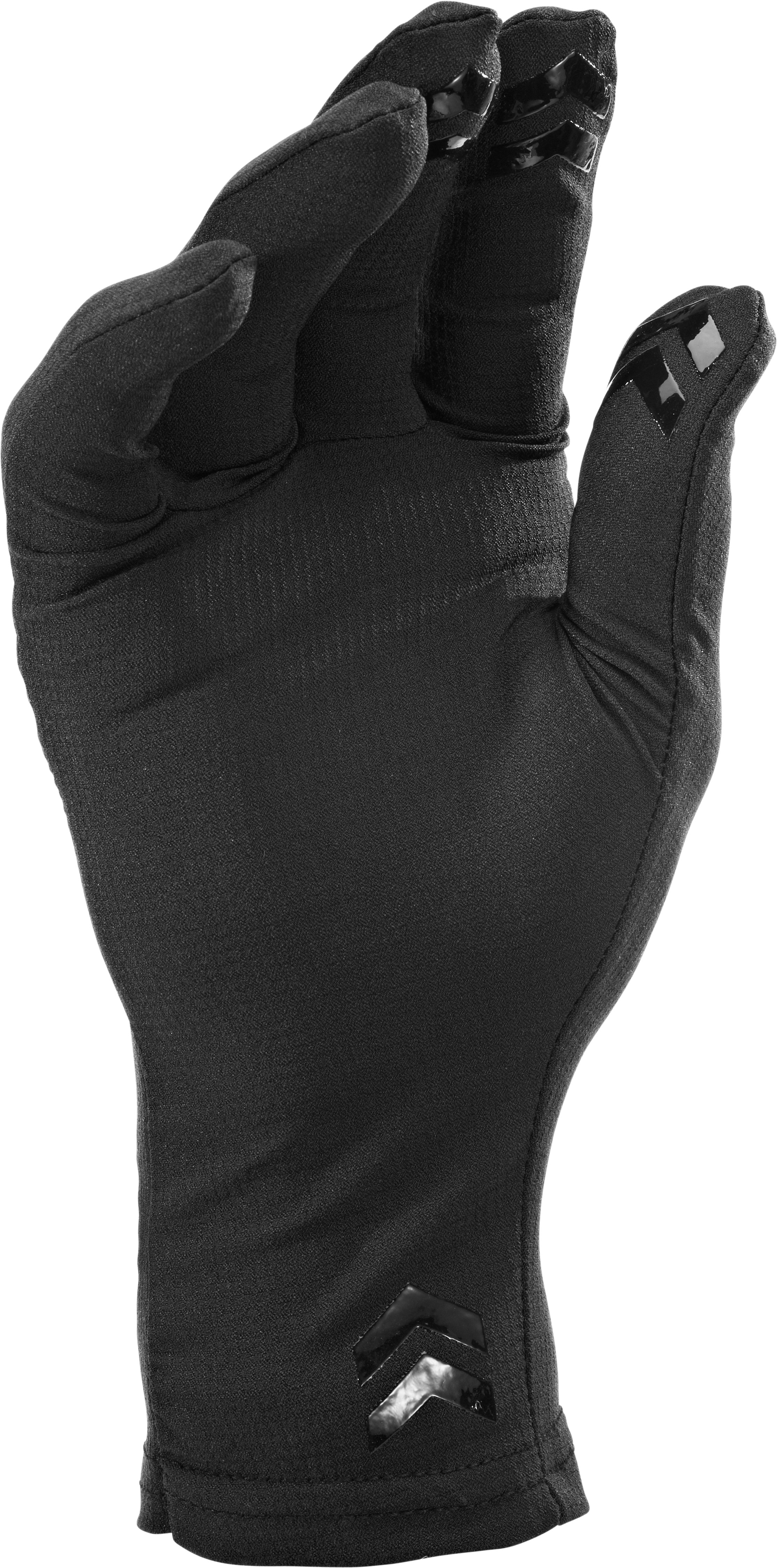 Men's UA Tactical HeatGear® Liner Gloves, Black