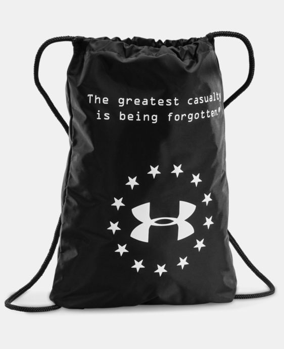 UA WWP Sackpack LIMITED TIME: FREE U.S. SHIPPING 1 Color $18.99