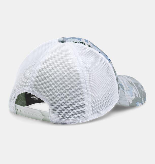 836e649969a Men s UA Fish Hook Camo Adjustable Cap