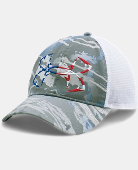 Men's UA Fish Hook Camo Adjustable Cap  2 Colors $29.99