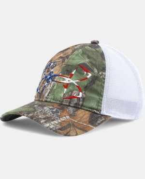 Men's UA Fish Hook Camo Adjustable Cap   $24.99
