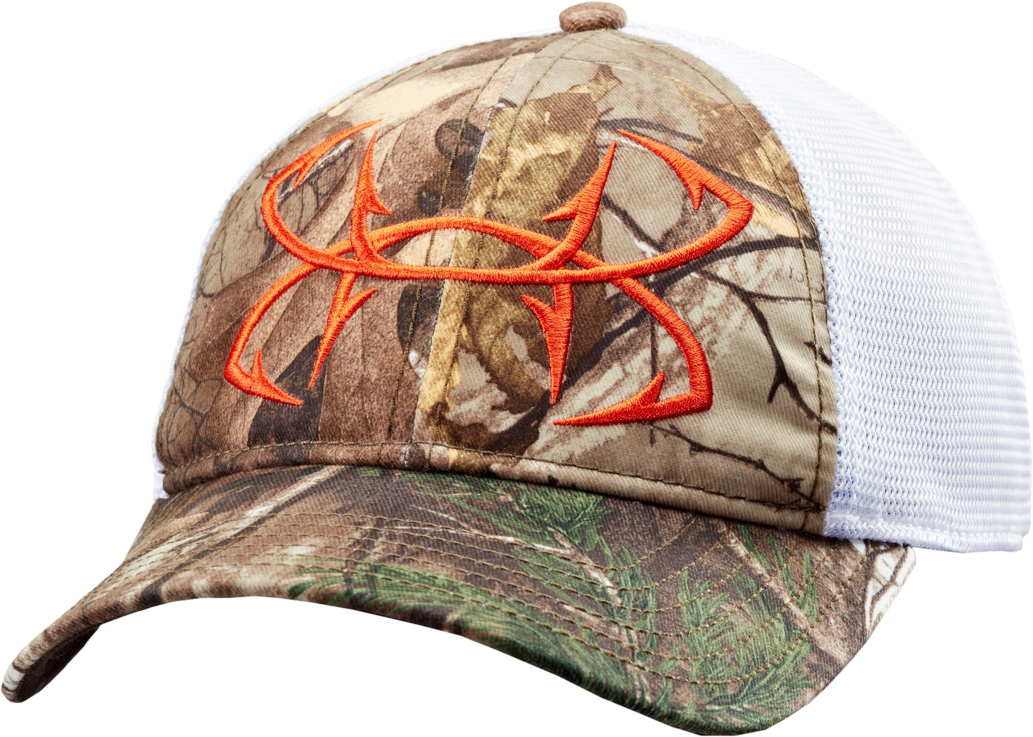 Men's UA Fish Hook Camo Adjustable Cap, REALTREE AP-XTRA