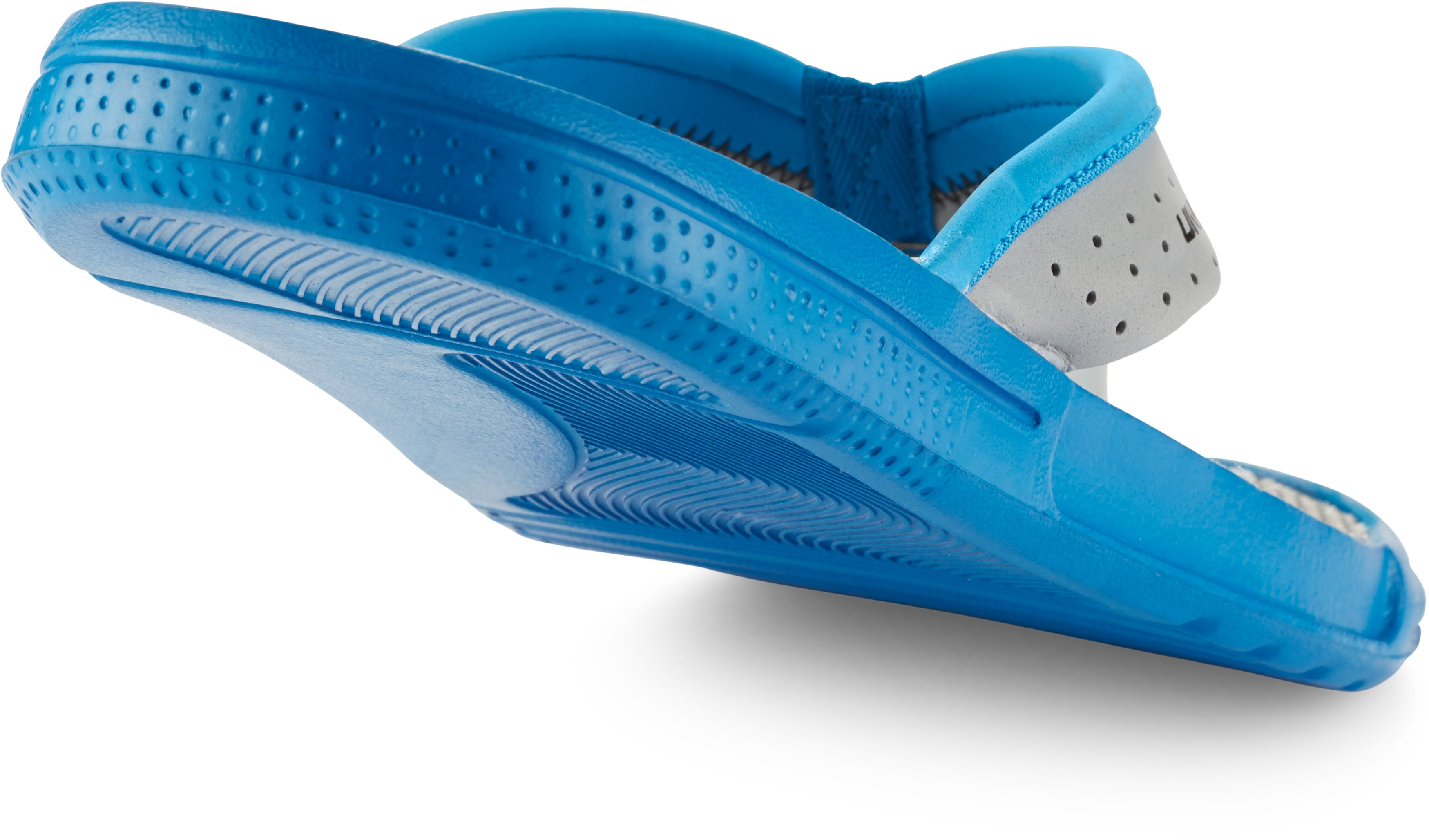 Men's UA Micro G® EV Sandals, BLUE JET