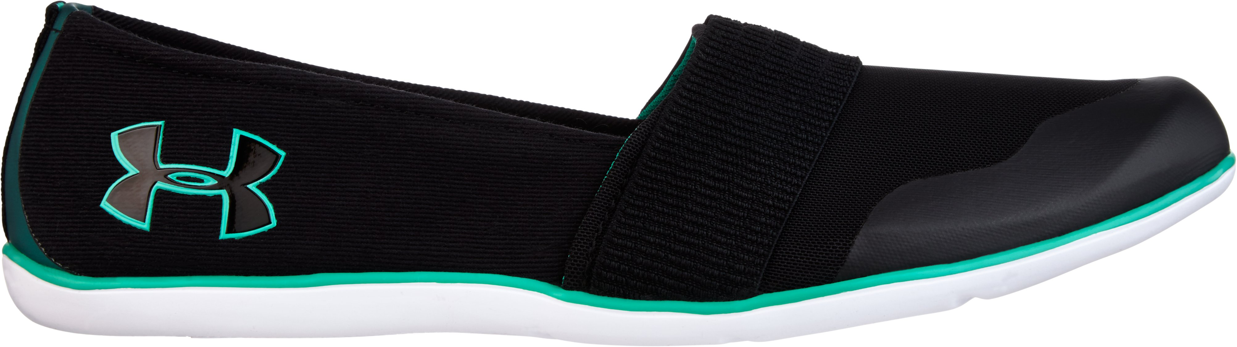 Women's UA 4D Foam® Encounter III Slip-On, Black , zoomed image