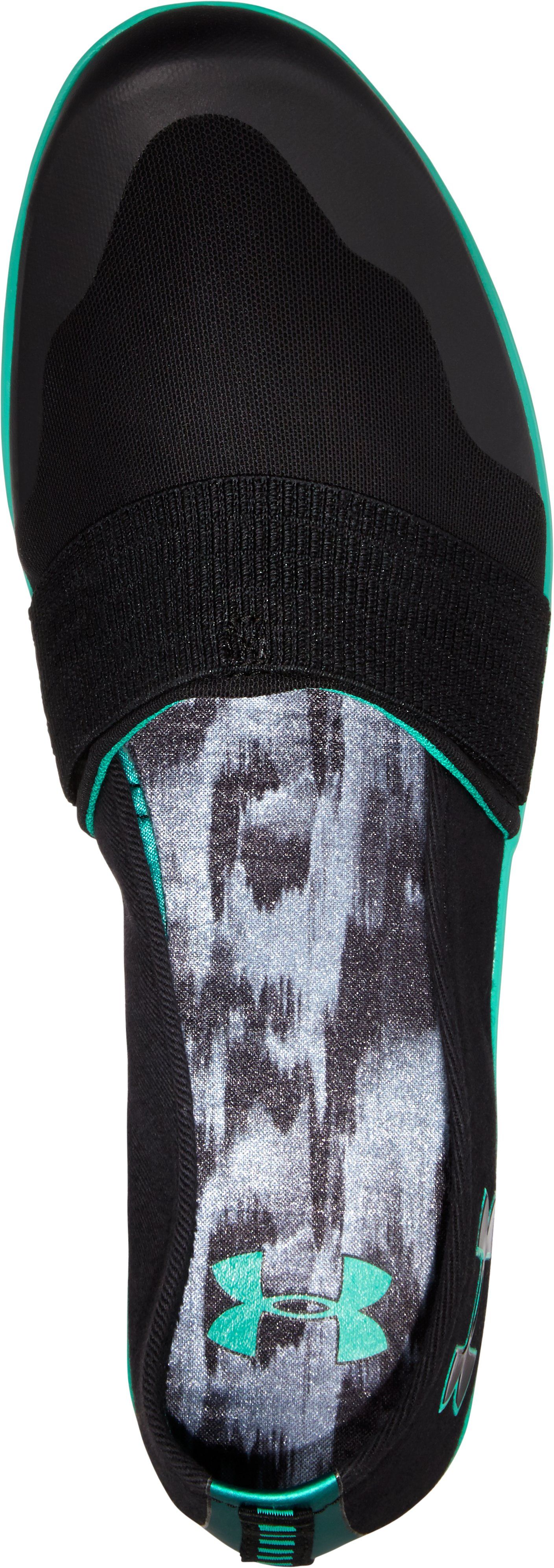 Women's UA 4D Foam® Encounter III Slip-On, Black ,