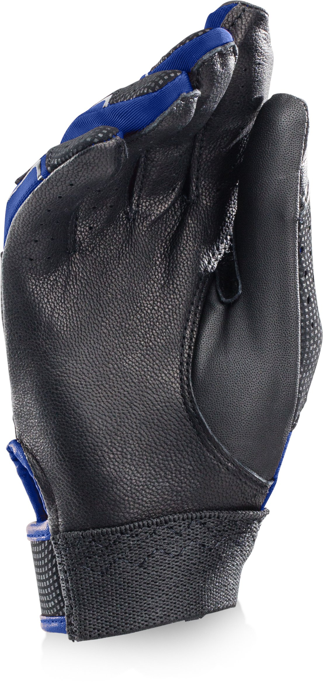 Boys' UA Clean Up Batting Gloves, Royal,