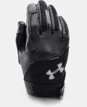 Kids' UA Clean Up Baseball Batting Gloves